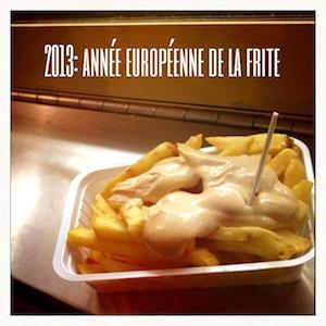 2013 année européenne de la frite
