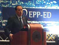 Berlusconi PPE congrès 29-03-2006