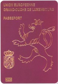 passeport UE luxembourg