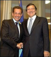 Sarkozy Barroso